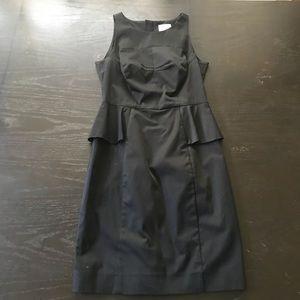 Milly Peplum midi dress
